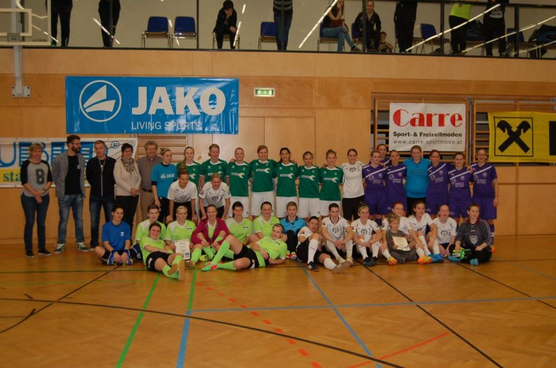 Siegerfoto Futsal Turnier in St. Peter